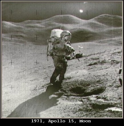 UFO Orb Alien Visitation Spacecraft - NASA 1971 Apollo 15