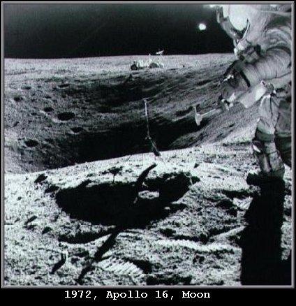 UFO Orb Alien Visitation Spacecraft - NASA 1972 Apollo 15