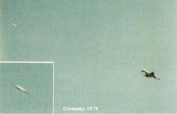 UFO spotted over Germany 1979