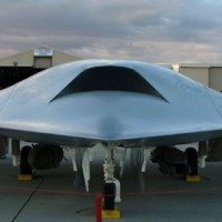 Airshowfan dot com by Bernardo Malfitano Image of X45C mockup at Nellis 05 200x200 UFO inspired Black Projects Gallery 1