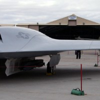 Airshowfan dot com by Bernardo Malfitano Image2 of X45C mockup at Nellis 05 200x200 UFO inspired Black Projects Gallery 1