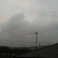 Aron s snap of silver saucer Lancashire UK 20102 200x200 UFOs on Camera   Gallery 2