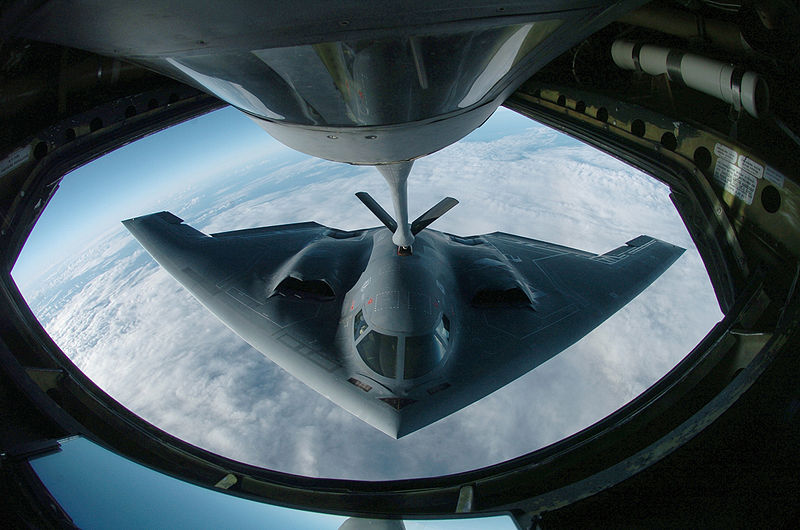 B-2 Spirit Refueling Top Secret Black Project Black Budget