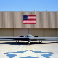 B2 bomber initial rollout ceremony 1988 200x200 UFO inspired Black Projects Gallery 1