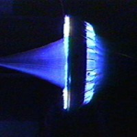 Light Craft Prototype Static Plasma 200x200 UFO inspired Black Projects Gallery 2