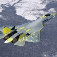 Pak fa in flight 200x200 UFO inspired Black Projects Gallery 1