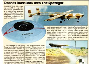 Popular Science Magazine USAF Saucer