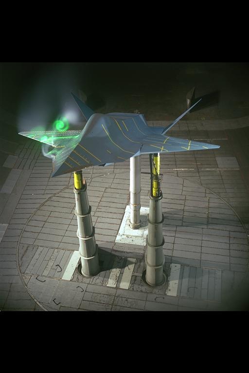SHARC Subsonic High Alpha Research Concept Top Secret ...