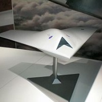 Taranis Model 200x200 UFO inspired Black Projects Gallery 1