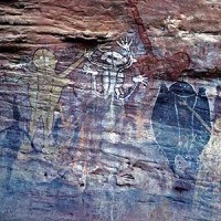 aboriginal cave painting cape york qld 200x200 Ancient Aliens Gallery 3