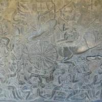 alertКолесница на поле битвы. Барельеф на стене индуистского храма изображающий сцену из Рамаяны 200x200 Ancient Aliens Gallery 3