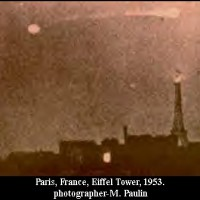 eiffeltower1953 200x200 UFOs on Camera   Gallery 1