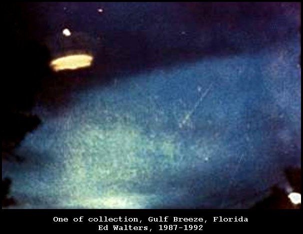 UFO Vimana Anti-gravity Light in the Sky - Gulf Breeze, Florida 1992