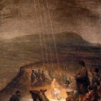historical saucer shaped ufo in ancient painting 200x200 Ancient Aliens Gallery 1