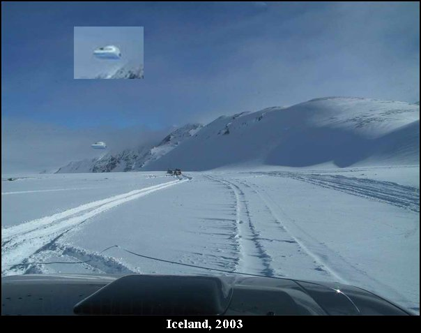 UFO Blimp Northrup Top Secret Stealth UCAV UAV - Iceland, 2003