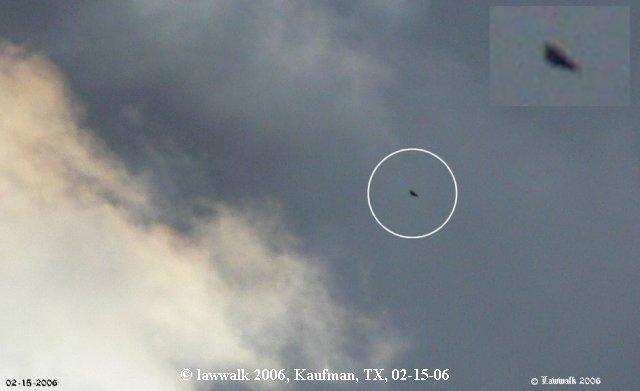 Triangle UFO TR-3B Astra Aurora Top Secret NAVY Airforce Aerodynamic Stealth - Kaufman, TX 02/15/2006