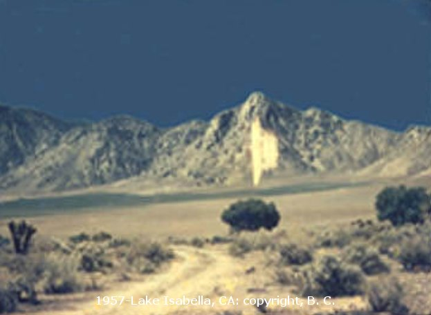 Multidimensional Top Secret UFO - High Frequency AntiGravity - Lake Isabella, CA 1957
