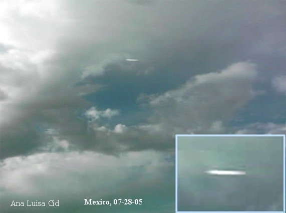 Supersonic UFO white light photon high frequency emission - Mexico, July 28, 2005