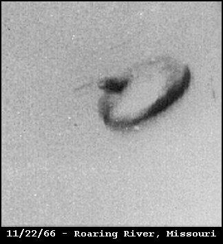 UFO Flying Saucer - Project SNOWBIRD - Roaring River, Missouri 11/22/1966