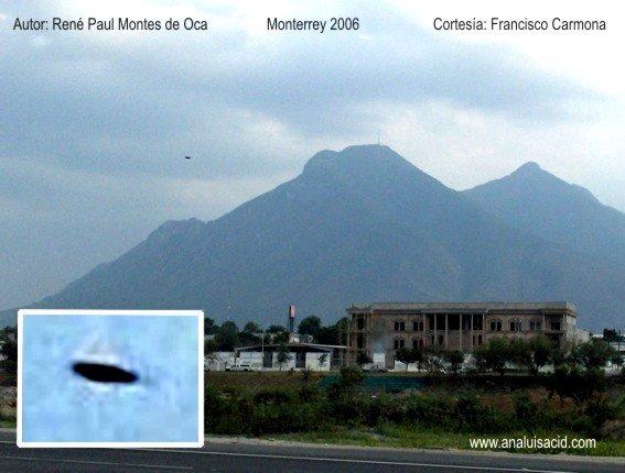 Saucer Shaped UFO near Monterrey, 2006