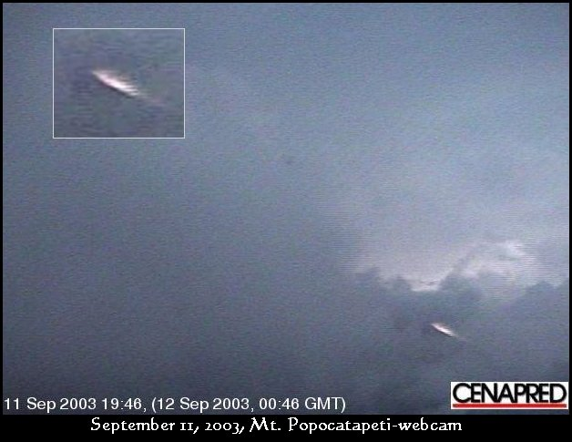 UFO at 45 degree angle - September 11th, 2003