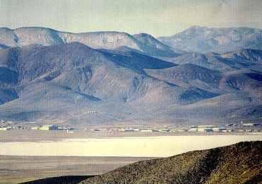 UFO Top Secret Military Vehicle near Nellis Air Force Base