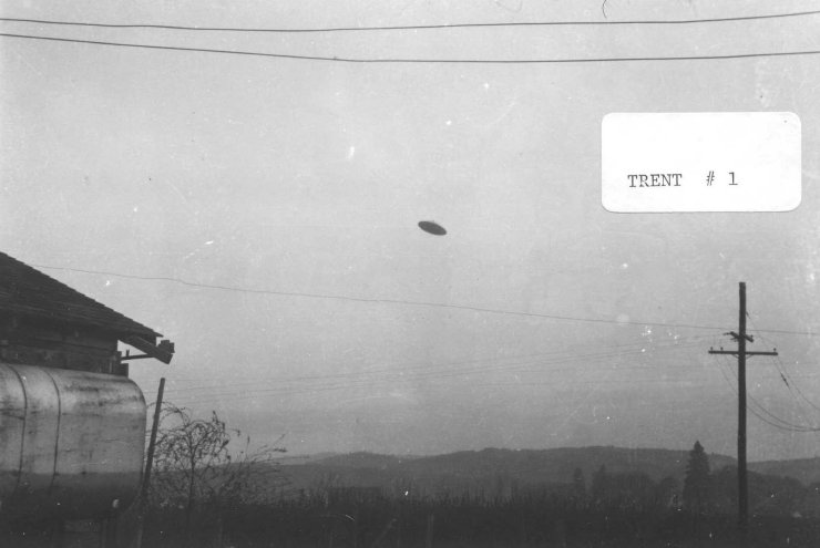 Flying Saucer UFO - Oregon Trent