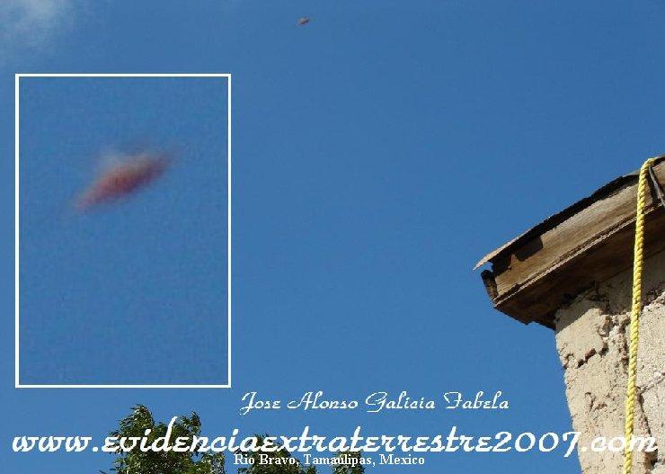 Saucer Shaped Aerodynamic UFO - Rio Bravo, Tamaulipas, Mexico