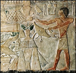 Saqqara offering egyptian – ancient aliens ufo hieroglyphics