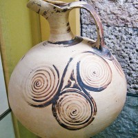 Ancient greek beaked jug decorated with triple spirals1 200x200 Ancient Spirals