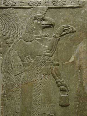 Anunnaki Bird - Flying Being Consciousness Merkabah