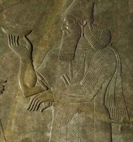 Anunnaki Watch Water Offering Water Sumerian Gods