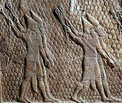 Assur, Ashur, or Assyria -  Assyrian Empire anciently called The Land of Subarum