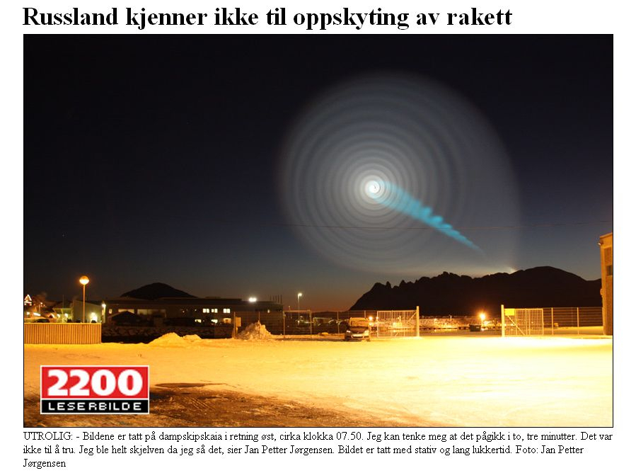 Norway Spiral Vortex in Sky