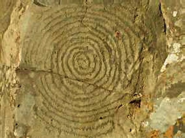La Palma, Canary Islands, Spiral Petroglyph