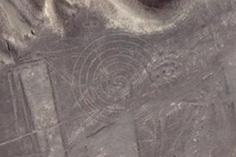 Nazca Spiral Symbol 1