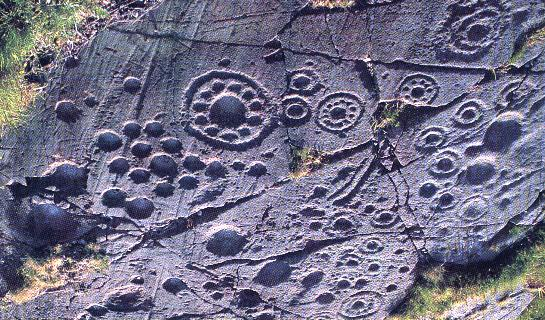 Ancient Spiral Neolithic art