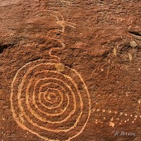 Nine Mile Canyon Utah Petroglyphs 1 200x200 Ancient Spirals