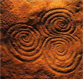Tripple Spiral Sacred Symbol