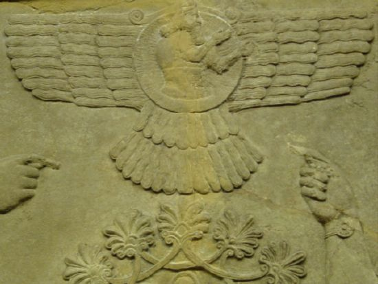 Sumerian Artifacts Wings Flying Machine Vehicle Vimana UFO