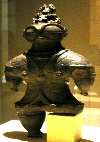 Sumerian Jomon Statue Ancient Astronaut
