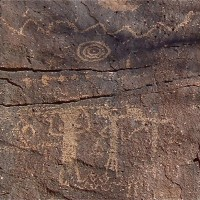 Taos Rock Art Petroglyphs 31 200x200 Ancient Spirals