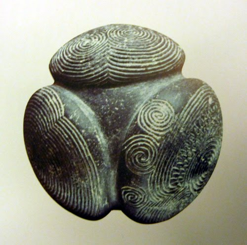 Towie Carved Stone Ball found in Scotland 2400 BC
