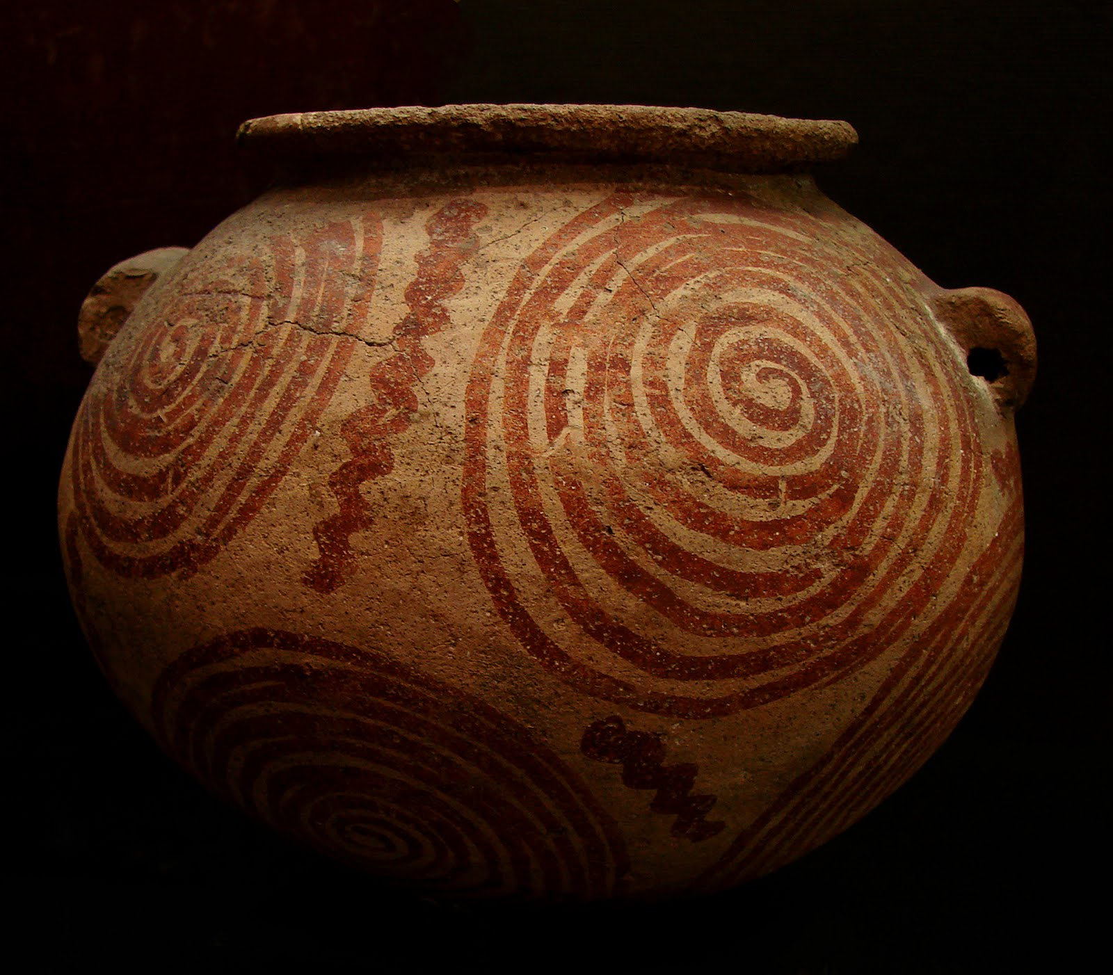 Vase Nagada II Musée de Laon