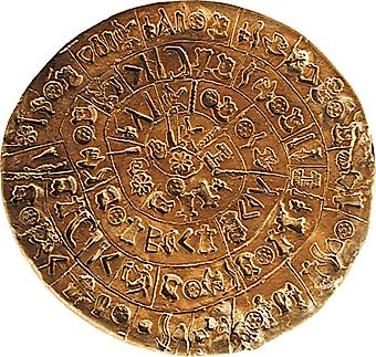 Ancient Phaistos Disk