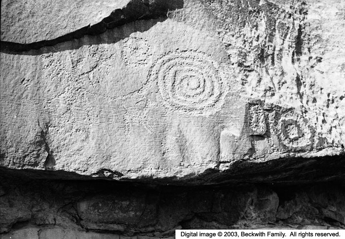 ancient spiral carving