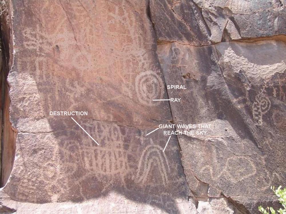ancient wall art petroglyphs 6