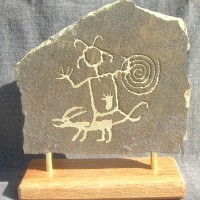 chaco canyon petroglyph1 200x200 Ancient Spirals