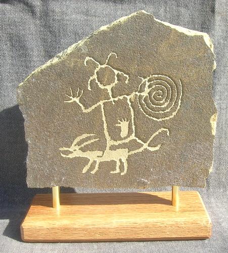 chaco canyon petroglyph