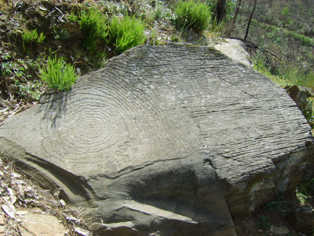 Ancient Spiral Rock